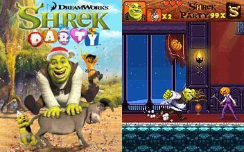 بازی جاوا موبایل – SHREK party
